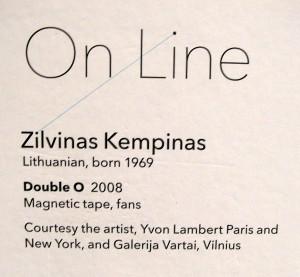 Zilvinas Kempinas, Double O 2008