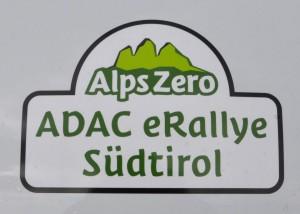 Das Logo der Alps Zero eRallye
